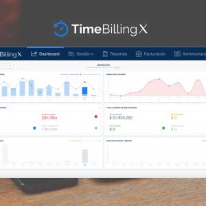 TimeBillingX estrena Dashboard