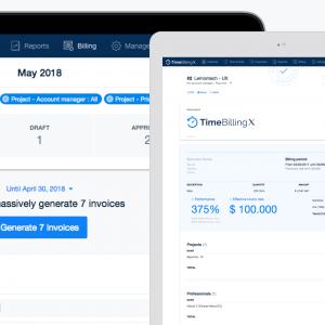 TimeBillingX cuenta con un nuevo módulo de facturación