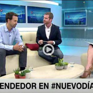 Ignacio Canals, fundador de Lemontech, en entrevista con CNN