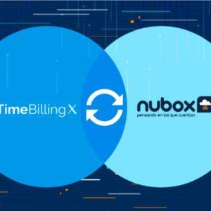 TimeBillingX se integra con Nubox